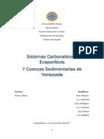 Sistemas Carboniticos y Evaporiticos (FINAL)