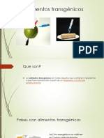 Alimentos transgénicos Ventajas