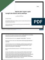 Insansyahadah Wordpress Com 2018-02-05 Kalimah Yang Berat Da