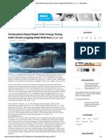 Pembuatan Kapal Diejek Oleh Orang-Orang Kafir _ Kisah Lengkap Nabi Nabi Nuh عليه السلام - Sentap News