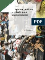 Religiones Política y Estado Laico Nicolás Panotto 2017 2