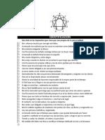 Cuestionario Eneagrama Original - 2016 (1)