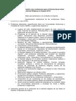 Cuestionario Confesiones-Informe Libertad Religiosa en España 2016