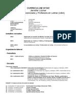 CV Jennifer Löcher Periodista