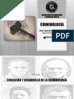 2. Evolucion y Desarrollo Historico de La Criminologia