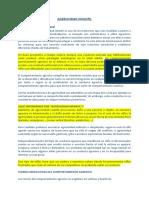 Agresividad Infantil Definicion y Programa Autocontrol
