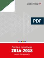 Agenda de Competitividad  2014-2018. Rumbo a Bicentenario.pdf