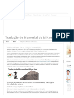 Tradução Do Memorial de Mikao Usui _ O Tao Do Reiki