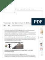 Tradução Do Memorial de Mikao Usui _ O Tao Do Reiki