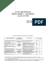 2017-2018-Evaluare Initiala grupa mare