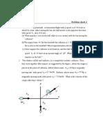 Linear Momentum_ Problem Sheet 2