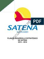 Plan Estrategico Satena 2015 2018