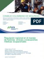 GCE347 2017 Regulacion Nacional en El Manejo de Historias Clinicas Cristian Ramirez