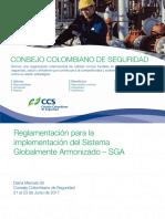 GCE347 2017 Reglamentacion Para La Implementacion Del SGA Diana Gil