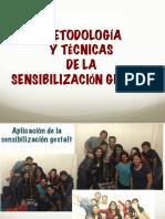Metodología y técnicas de la sensibilización gestalt