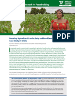 Boosting Agricultural Productivity and Food Security in Africa