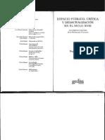 Espacio Público, Crítica y Desacralización en el S. XVIII - R. Chartier.pdf