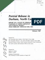 1987 Durham Pretrial Release Study (1)