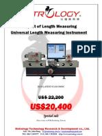 2010 Prcie for Universal Length Measuring Machine