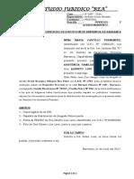 Subrogo y Apersonamiento - Aurelia Fonseca