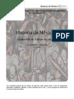 Cuadernillo de Trabajo Para El Alumno Historia de México II