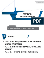 Introduccion a La Arquitectura