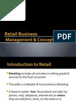 Retail Business & Concepts - PSS Jan '09