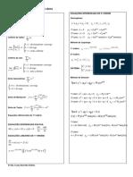 Resumo Equaes Diferenciais e Sries