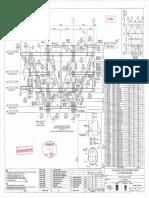 2014-4991!62!0002-PM Rev C4 ST-LQ Topside Elevation Truss Row B and B1 (Sheet 1 of 2)