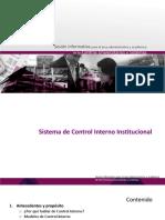 6. Vicerrectoria Ejecutiva - Control Interno- Sesion Informativa Academico Administrativa