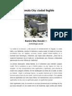 Guatemala City-ciudad Inteligible 2018