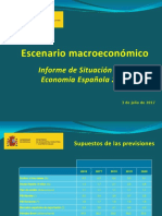 Escenario Macroeconomico