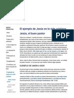 Jesús, El Buen Pastor