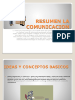 Resumen La Comunicacion