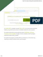El análisis DAFO de proyectos