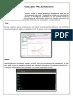 Software Libre Para Matemáticas