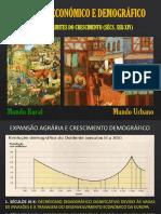 Quadro Económico e Demográfico Medieval