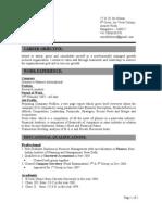 Saurabh deora CV