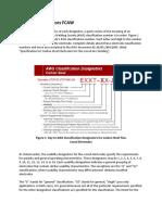 Usability Designators FCAW