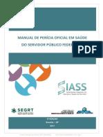 Manual de Perícia Oficial Em Saúde Do Servidor Público Federal - 3ª Edição