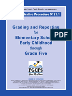 Administrative Procedure For PGCPS Elementary Schools