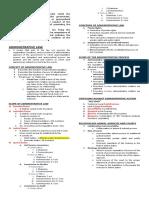 Admin Law Midterm Outline