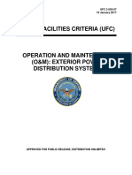 Operations and Maintenance of Electrical Power and Distribution Systems