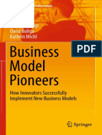 (Management for Professionals) Kai-Ingo Voigt, Oana Buliga, Kathrin Michl (Auth.)-Business Model Pioneers_ How Innovators Successfully Implement New Business Models-Springer International Publishing (