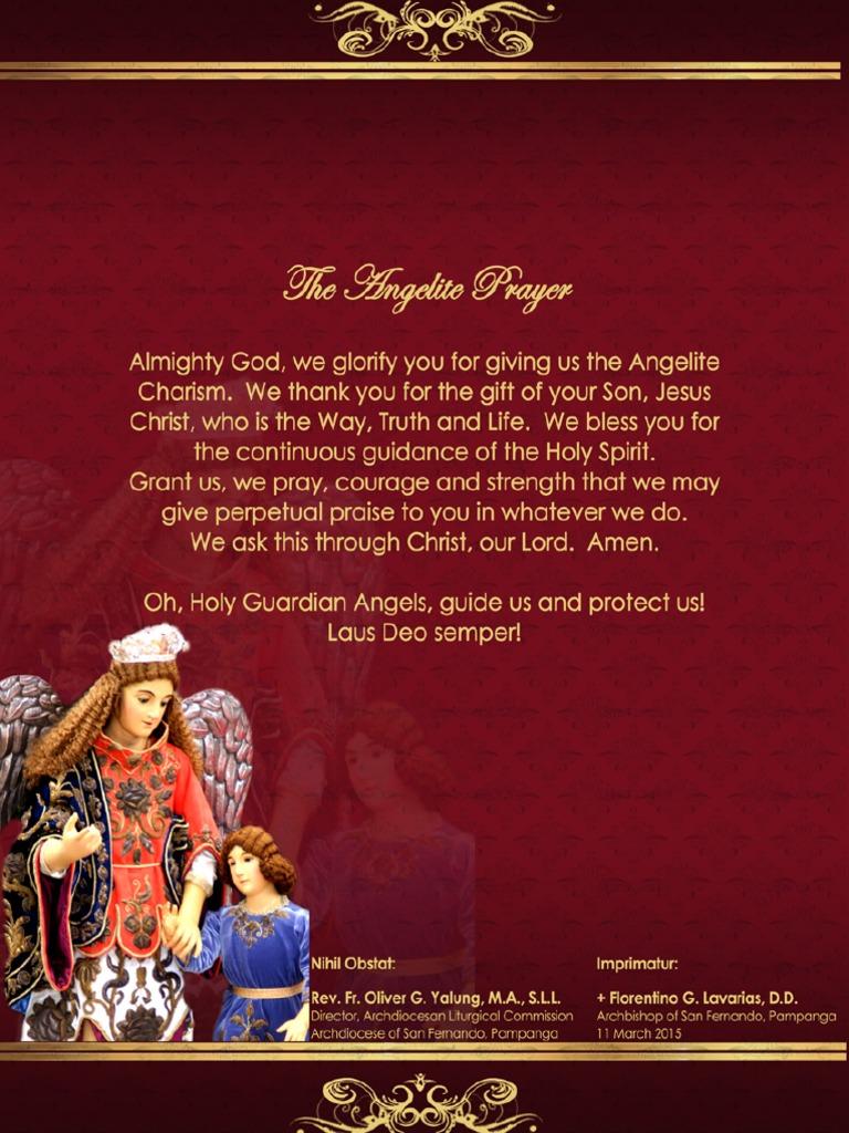 Angelite Prayer Short