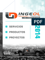 Brochure INGEOL 2014