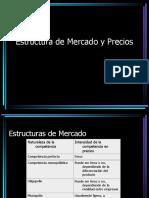 Estructura de Mercado y Precio