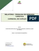 Relatorio Pesquisa de Demanda Turistica Carnaval Curuca 2014