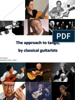 The Approach to Tango by Classical Guitarists Tim Panman