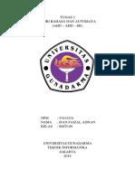 Tugas Teori Bahasa dan Automata AHN to AHD